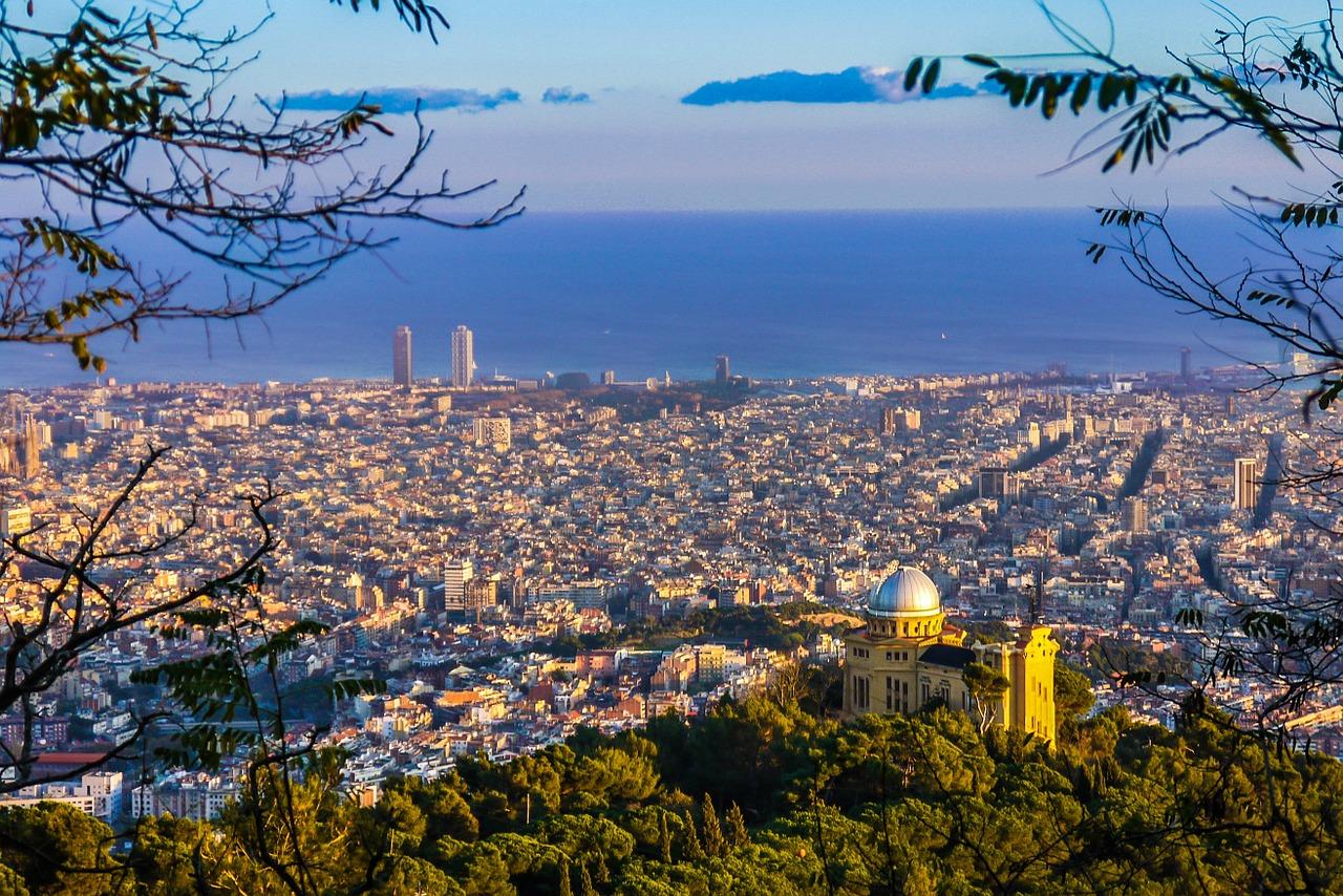 Красивый вид, Барселона