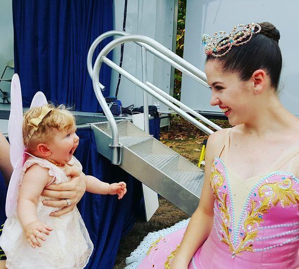 Девочка и балерина