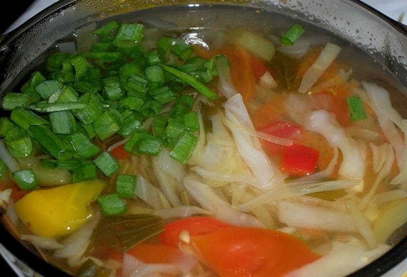 Прозрачный суп