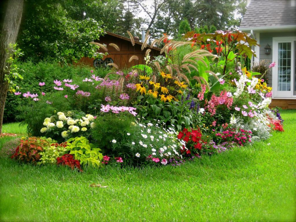 Дизайн сада своими руками картинки