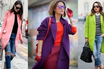 Женские пальто и плащи, мода 2017 года