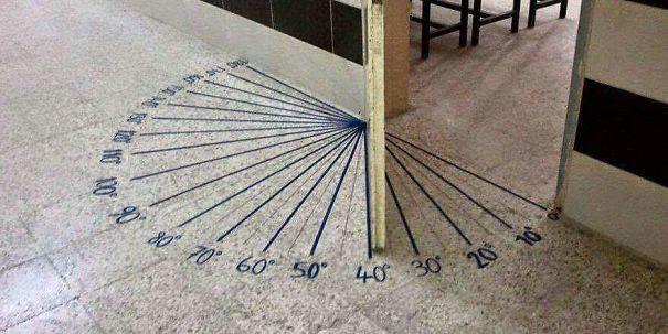 Пример дизайна в школе