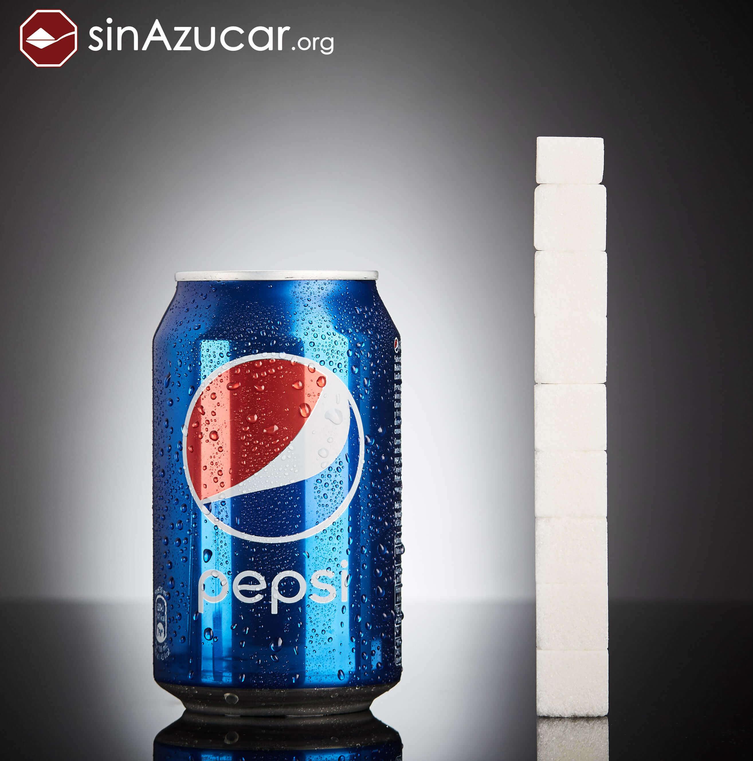Баночка пепси