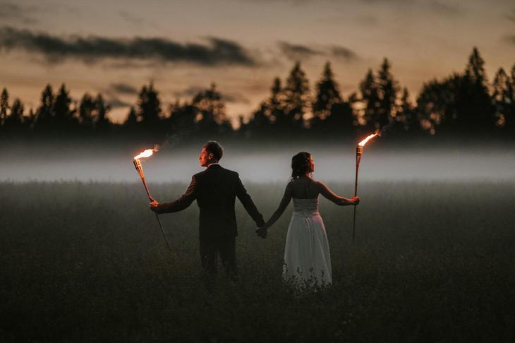 Свадебное фото, Эстония