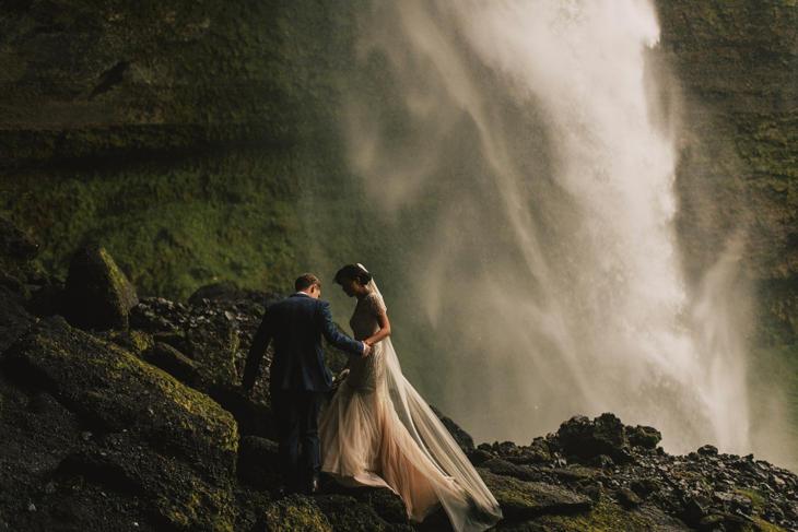 Остров Исландия, водопад
