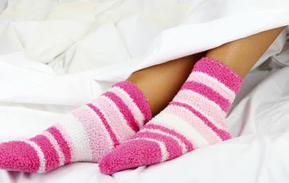 О пользе носочков для сна