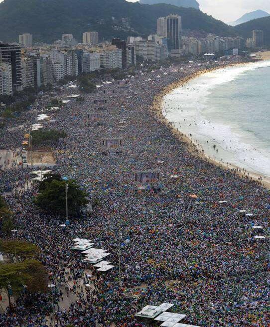 Популярный пляж