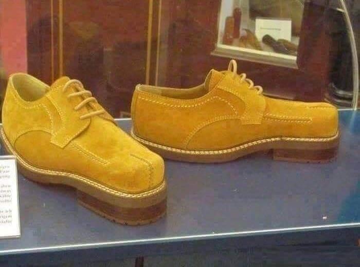 Забавная обувь