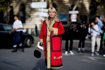 Лучшее в уличном стиле неделя моды в Париже