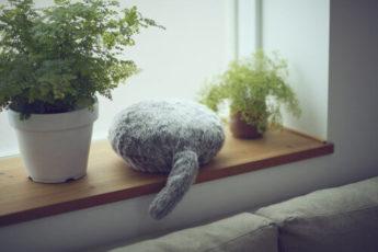 Японский кот робот