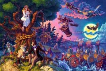 5 лучших сказок для детей на ночь