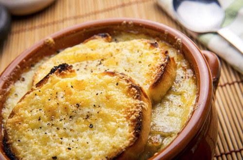 Итальянский луковый суп — zuppa di cipolla