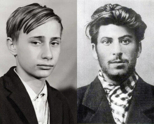 Лидеры нашего мира в молодости