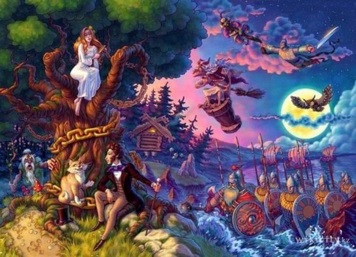 Сказки Александра сергеевича