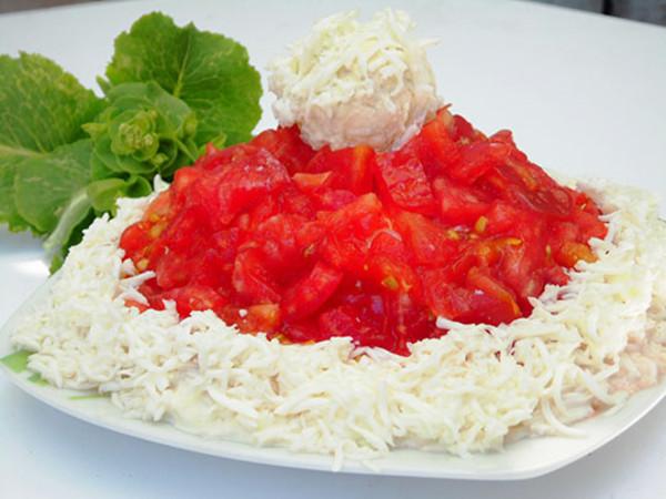 Салат к праздничному столу