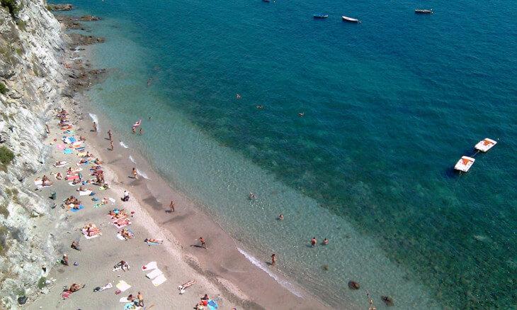 Пляжи Амальфи