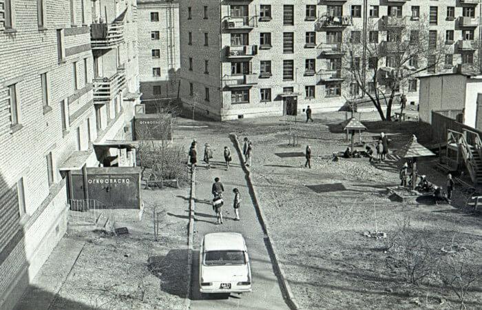 Детская площадка в ссср