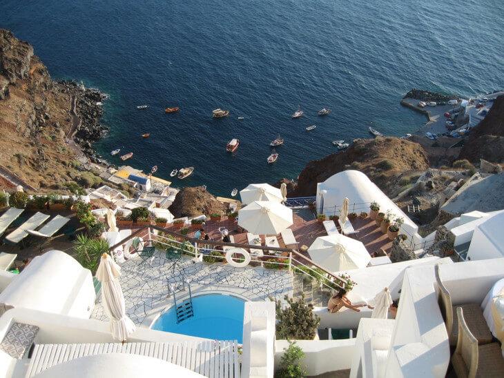 Где тепло в Октябре - Санторини, прекрасное место для осеннего отдыха