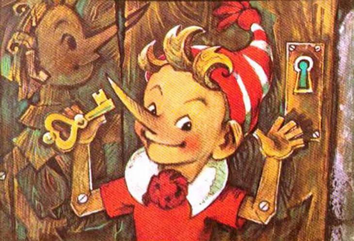Сказка о деревянном человечке