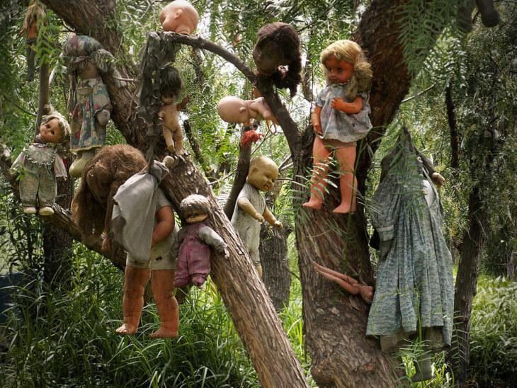 Остров кукол, самые опасные острова мира