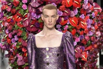 Испанский дизайнер Palomo представил новую коллекцию мужской одежды