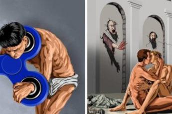 20 злободневных иллюстраций, кричащих о проблемах современного мира