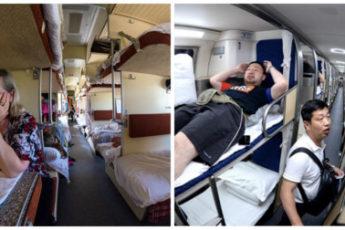 Есть ли разница между плацкартными вагонами в России и Китае?
