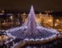 Великолепная рождественская елка в Вильнюсе