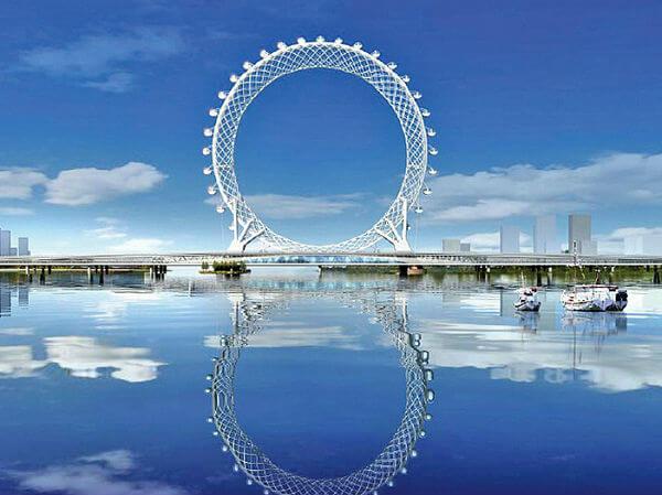 Они опять впереди планеты всей: китайцы построили первое в мире колесо обозрения без оси