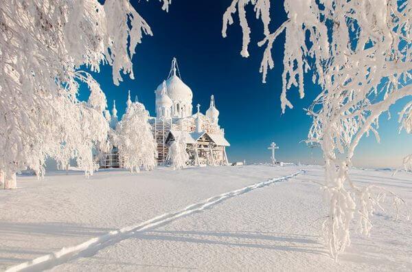 Сказочная русская зима на фото, в которую нельзя не влюбиться!
