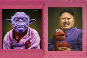 Скотт Шейдли, сказочная серия фотографий «Розовые»