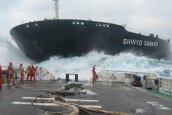 Грандиозные и устрашающие столкновения кораблей