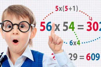 Математические трюки, которыми стоит обучить детей