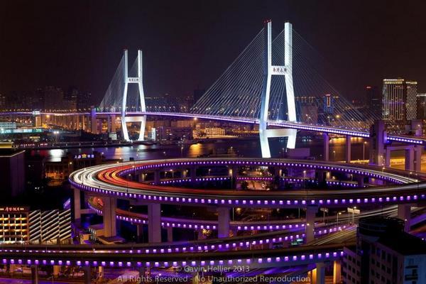 «Спящий дракон». Как выглядит первый в Китае вантовый мост (фото)