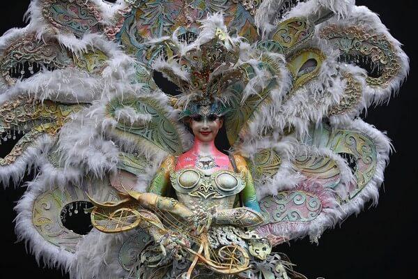 Фестиваль боди-арта в Южной Корее, 10 фотографий