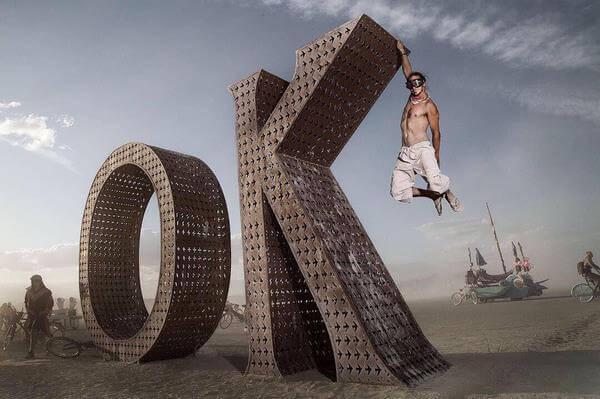 9 крутых фото с фестиваля Burning Man 2018