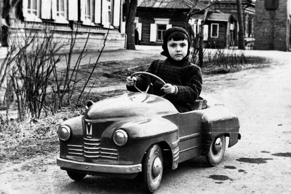 Детские педальные автомобили времен СССР