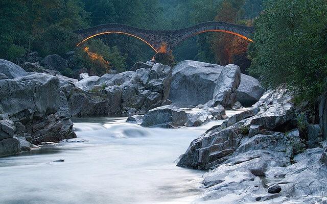 Река Верзаска, самая прозрачная река в мире