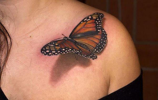 25 умопомрачительных 3D татуировки, которые выглядят абсолютно нестандартно
